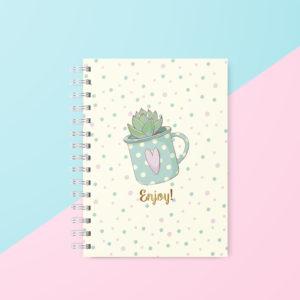 Caderno Colegial – Coleção Enjoy