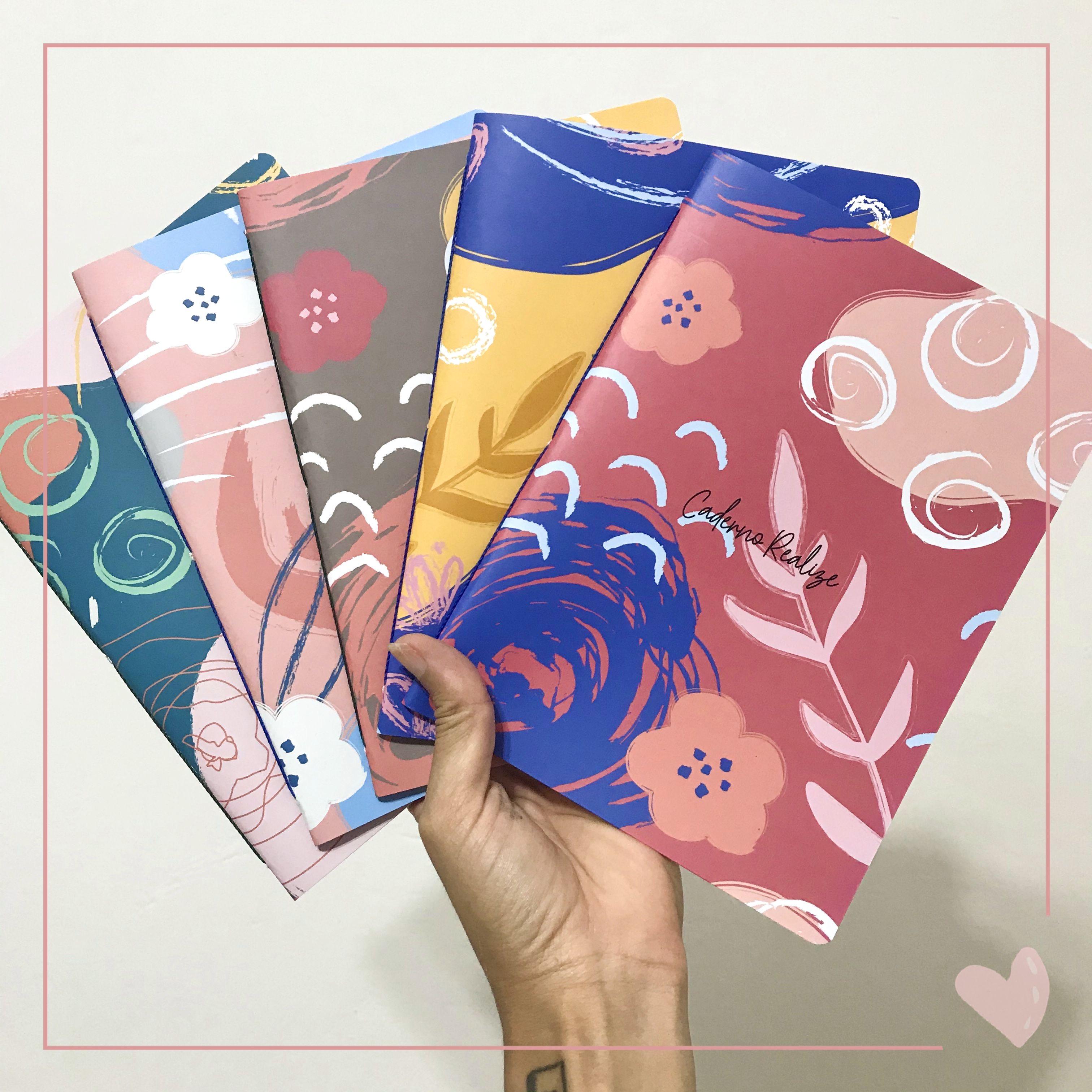 Capa planner em pedaços Floral Colors