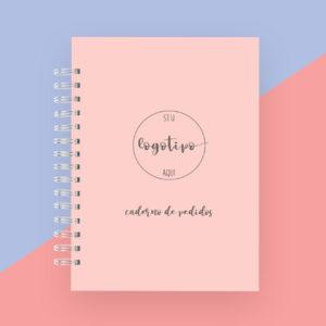 Caderno de pedidos personalizado