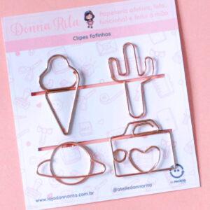 clips de metal coloridos