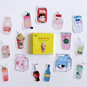 adesivos de bebidas